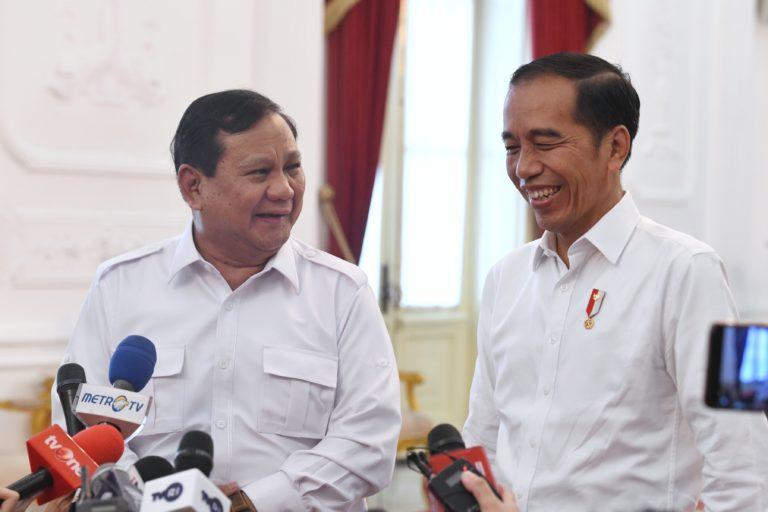 Temui Jokowi, Prabowo: Kami Siap Membantu