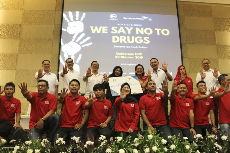 Garuda Indonesia Group Perkuat Pemberantasan Narkoba Lewat IIKGA