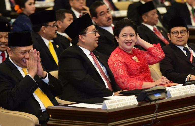 Puan Maharani Resmi Dilantik jadi Ketua DPR