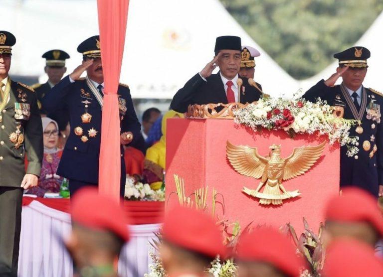 Pesan Jokowi di Hari Ulang Tahun TNI ke-74