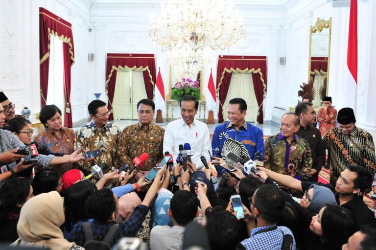 Soal Komposisi Kabinet, Ini Bocoran dari Jokowi