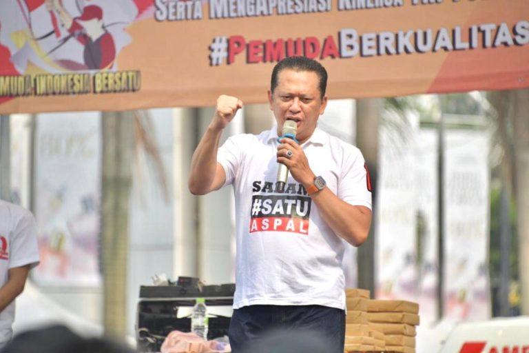 Ketua MPR Ajak Pemuda Terus Jalin Persatuan