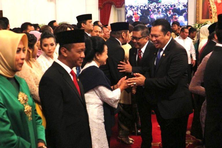 Ketua MPR: Semangat Perkokoh Persatuan dan Regenerasi dari Kabinet Baru