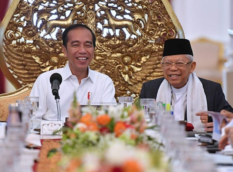 71,8 Persen Masyarakat Akui Bangga Dipimpin Jokowi-Ma'ruf, Ini Buktinya