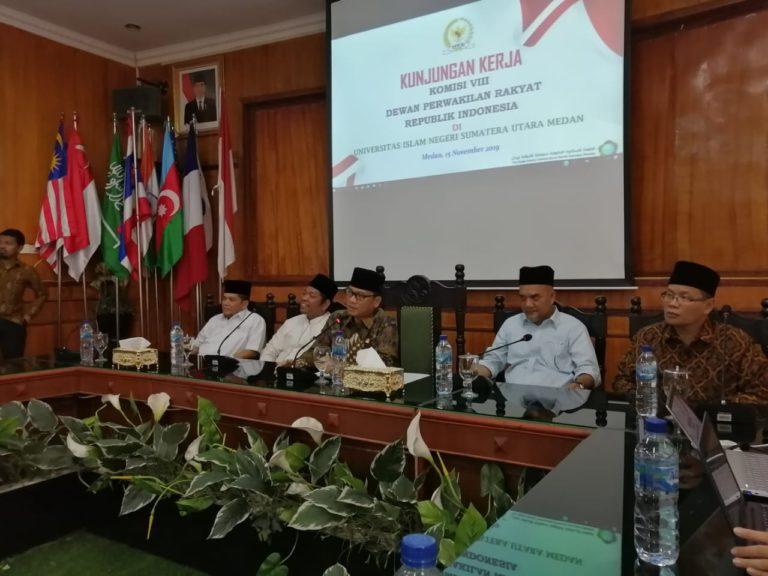Komisi VIII DPR Berharap SBSN Tingkatkan Kualitas PTKIN