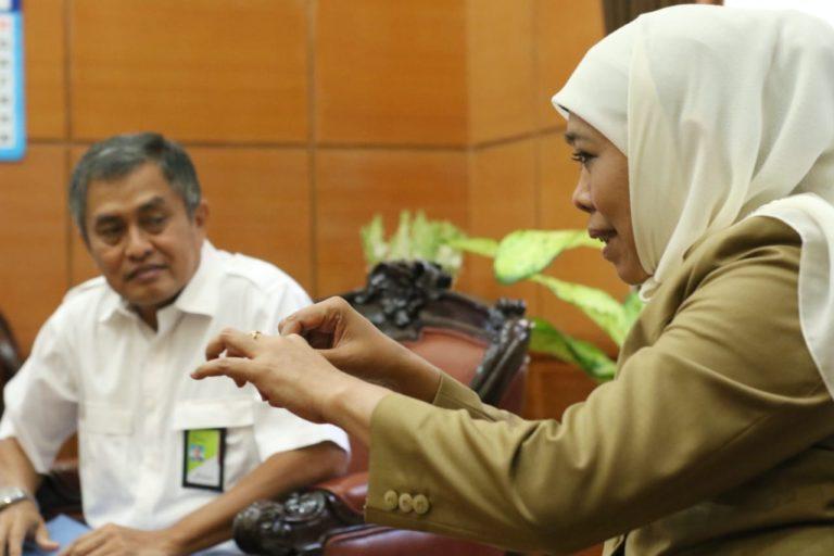 Rakor bersama Pertamina dan BPH Migas, Khofifah Jamin Stok Solar Aman di Jatim