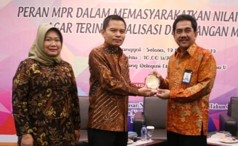 Sesjen MPR: Peran Humas Dalam Sosialisasi Empat Pilar Sangat Penting