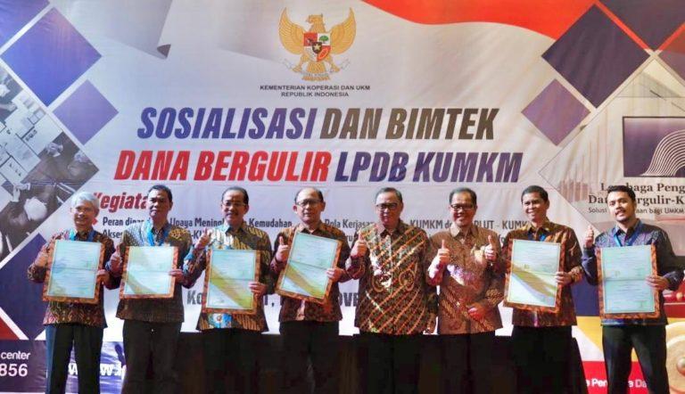 Tingkatkan Kualitas Penyaluran, LPDB Jalin Sinergi dengan Perguruan Tinggi dan PLUT-KUMKM