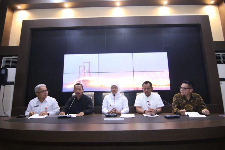 UMK Naik 8,51 Persen, Khofifah Berharap Industrial Tetap Kondusif dan Konstruktif-Produktif