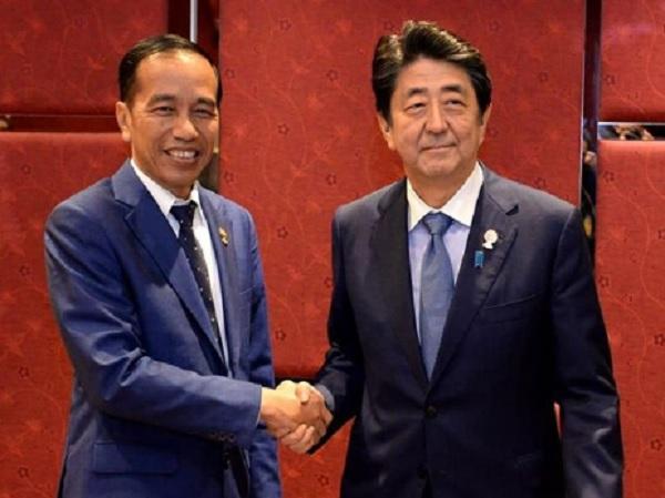 Bertemu PM Jepang, Jokowi Ajak Kerjasama Bangun SDM Indonesia