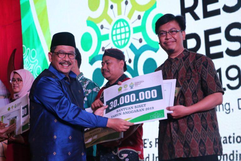 Dua Dosen UIN Bandung Raih Anugerah Peneliti Terbaik Utama di BCRR 2019