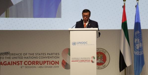 Hadiri Konferensi PBB Anti Korupsi, Menkumham Tegaskan Komitmen Indonesia