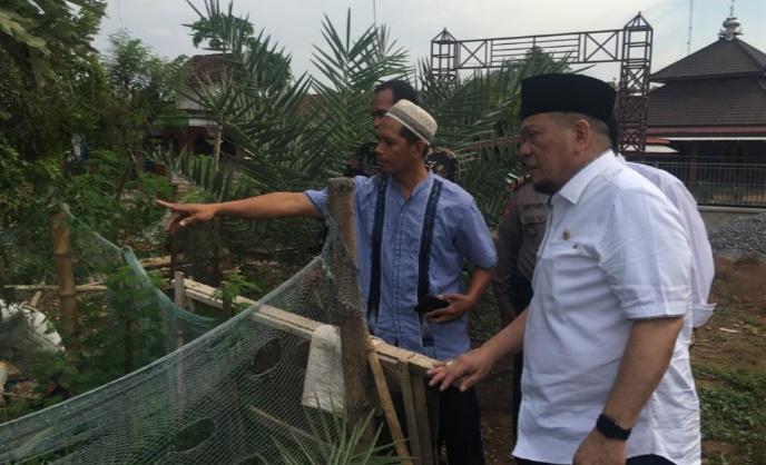 Sambangi YLP, Ketua DPD Apresiasi Pembibitan Kurma di Lamongan
