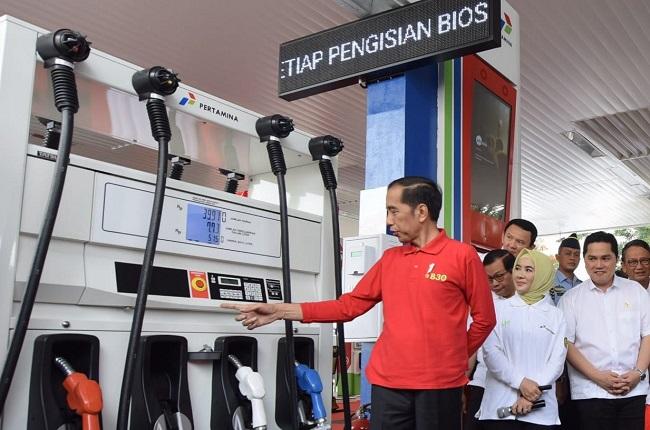 Resmikan Biodiesel 30, Jokowi Janji Tahun Depan Adakan B40