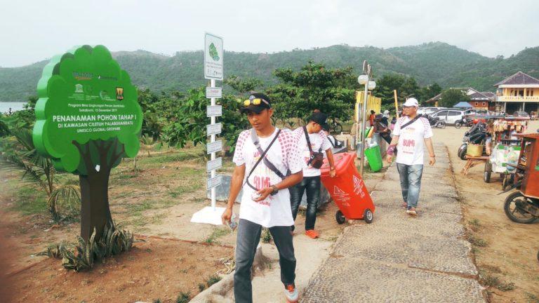 Jamkrindo Sukses Lakukan Kampanye Anti Sampah Plastik di Ciletuh