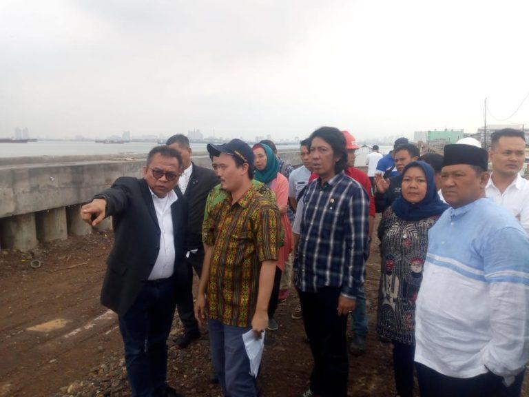 DPRD DKI Cek Tanggul untuk Pastikan Masyarakat Jakut Bebas Banjir Rob