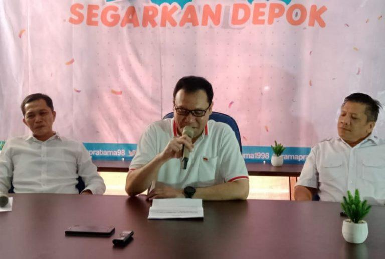 Resmi Deklarasi Calon Wali Kota Depok, Rama Pratama Optimis Melesat di Survei