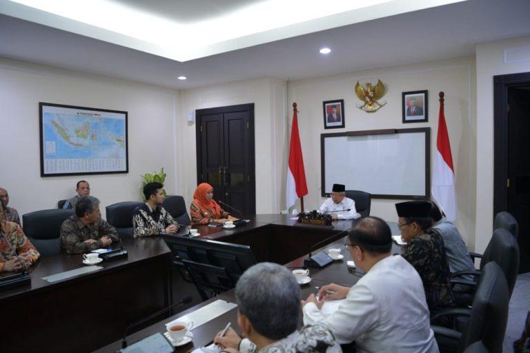 Temui Ma'ruf Amin, Khofifah Laporkan Perkembangan Perpres 80/2019