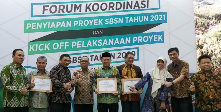 UIN Bandung Raih Penghargaan Satker SBSN Terbaik 2019