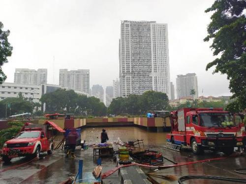Banjir di Underpass Kemayoran, Empat Pompa Penyedot Air Disiagakan