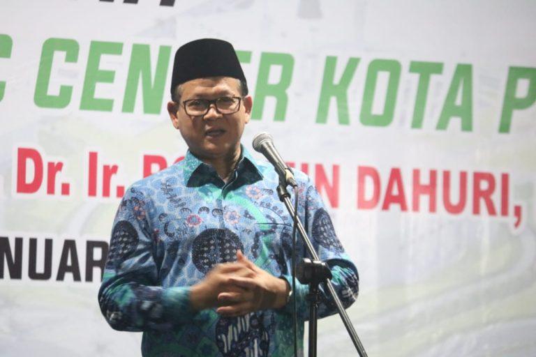 Hadiri Groundbreking Islamic Center Palu, Rokhmin Dahuri Ingatkan Pembangunan SDM Unggul