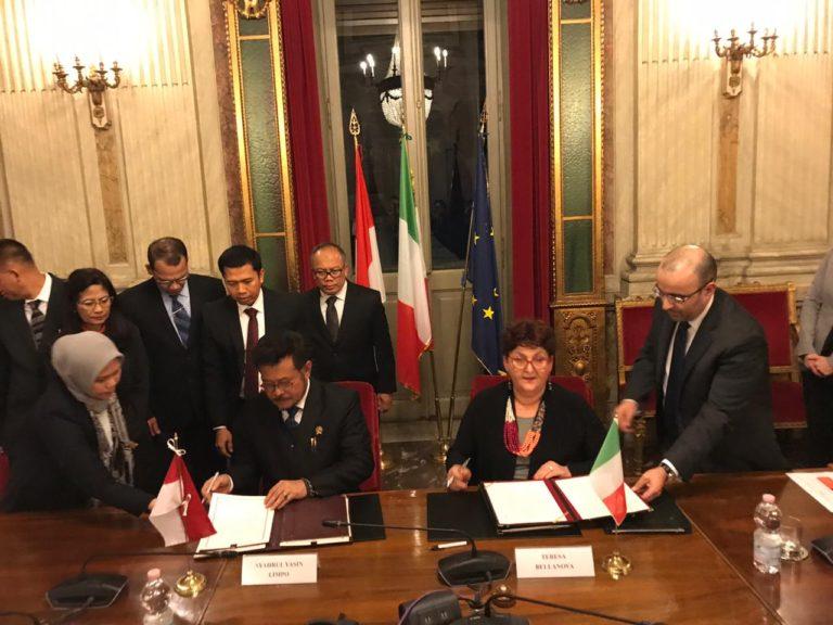 Syahrul Sepakati Perluasan Akses Produk Pertanian Indonesia dengan Italia