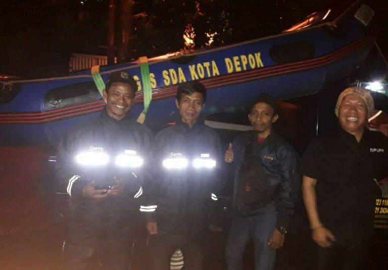 Antisipasi Banjir, Dinas PUPR Depok Siagakan Satgas dan Perahu Karet