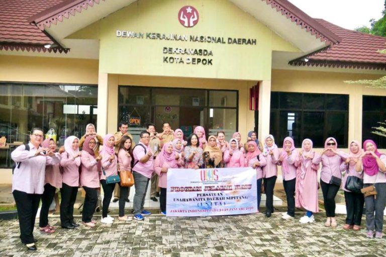 Belajar Produk Olahan, Perkumpulan Persatuan Usaha Wanita Malaysia Kunjungi Depok