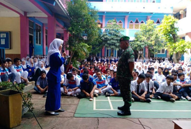 Ratusan Pelajar SMK Madhya Depok Ikuti Pembekalan Wawasan Kebangsaan