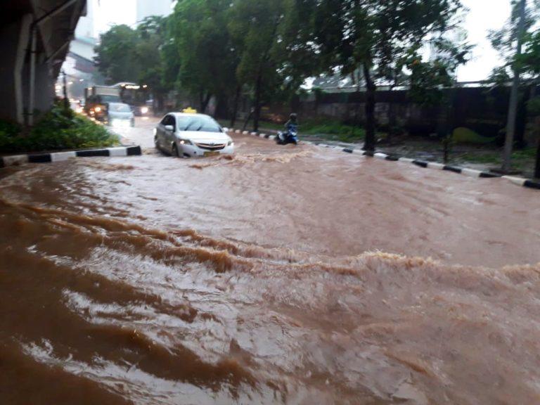 Awal Tahun 2020, Wilayah Jakarta Dikepung Banjir
