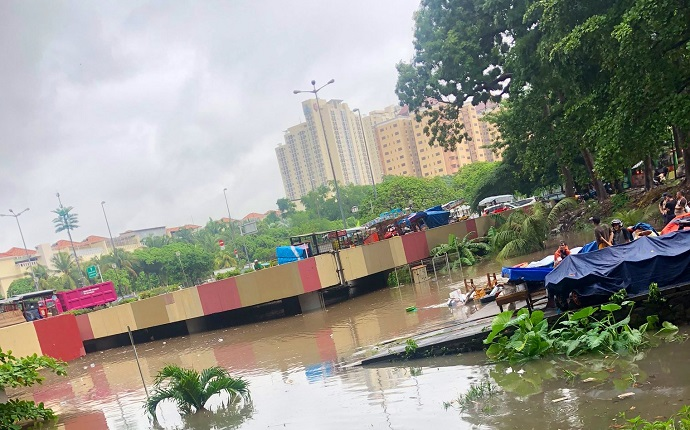 Soal Banjir Jakarta, BPBD DKI: Sebagian Besar Wilayah Telah Surut