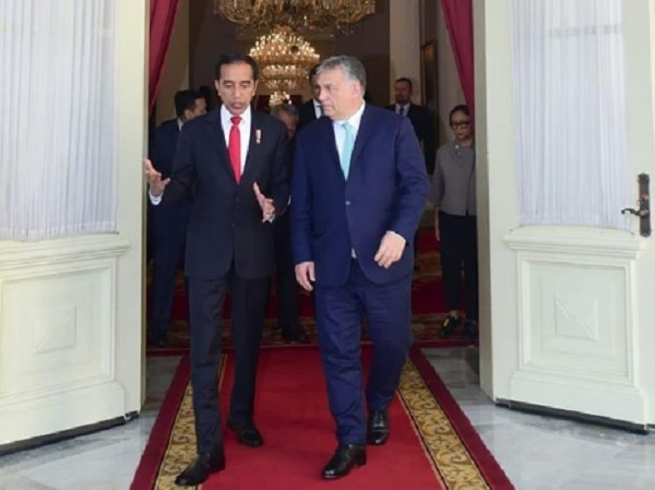 Gaet Hungaria, Jokowi Bidik Program Beasiswa hingga Pengembangan RS Militer