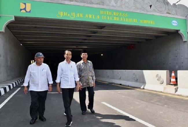 Jokowi Harap Keberadaan Underpass YIA Tingkatkan Ekonomi Masyarakat