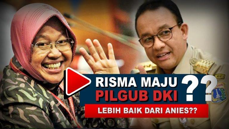Tertantang Benahi Jakarta, Risma Siap Maju di Pilgub DKI