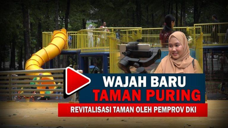Wajah Baru Taman Puring Setelah Direvitalisasi Oleh Pemprov DKI