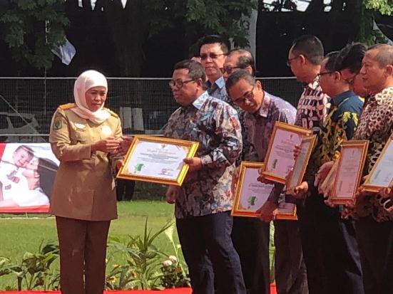 Pertamina EP Cepu Raih Zero Accident dari Pemprov Jawa Timur