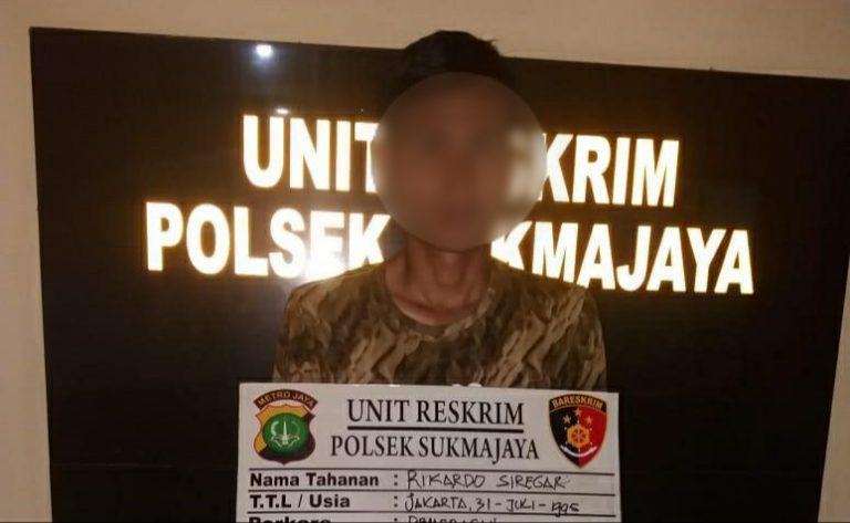 Rampas Ponsel Warga, Seorang Pemuda di Depok Diringkus Polisi