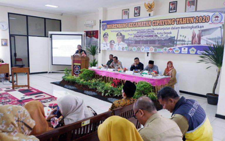 Serapan Anggaran Kecamatan Cipayung Depok Capai 90 Persen