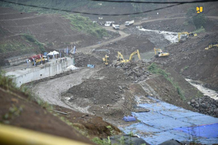 Pembangunan Dry Dam Ciawi masuki Tahap Konstruksi Tubuh Bendungan