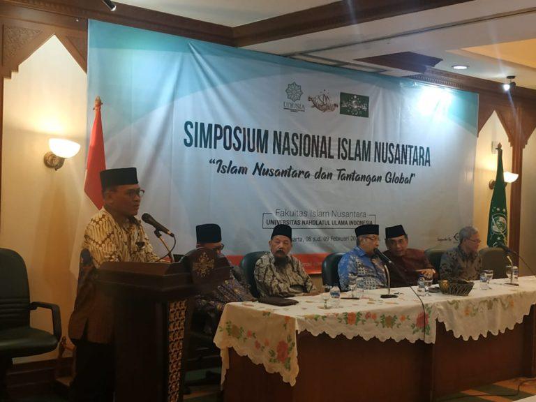 Respon Isu-isu Global dan Kebangsaan, UNUSIA Gelar Simposium Nasional Islam Nusantara