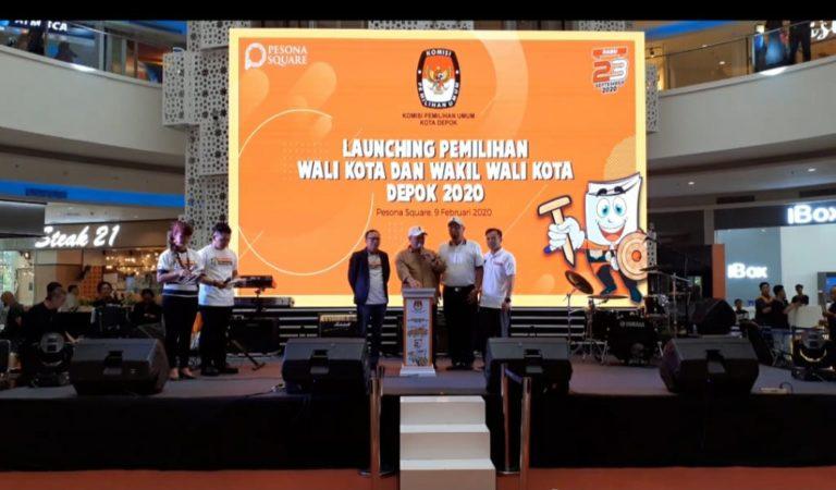 KPU Kota Depok Resmi Luncurkan Tahapan Pilwalkot 2020