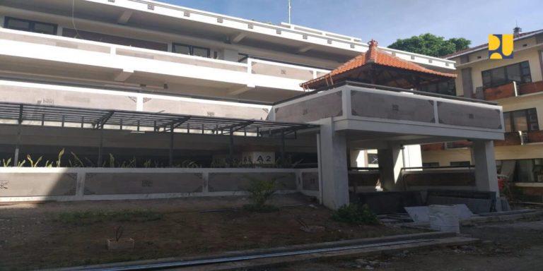 Kemen PUPR Rampungkan Fasilitas Gedung Parkir dan Lab Media Rekam ISI Denpasar
