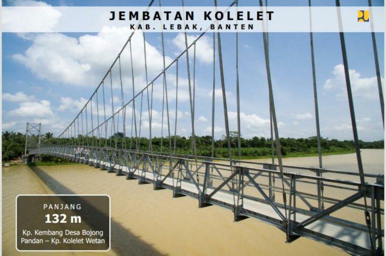 Kementerian PUPR Akan Bangun 148 Jembatan Gantung di Tahun 2020
