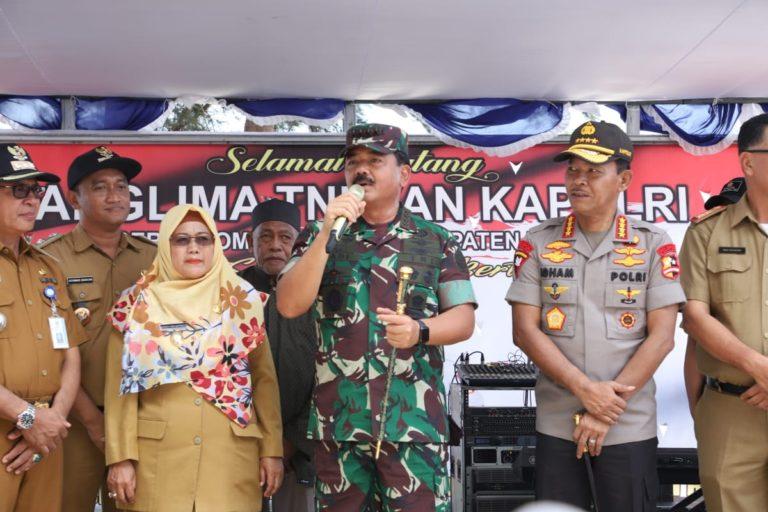 Panglima TNI: Observasi 238 WNI di Natuna Dinyatakan Sehat