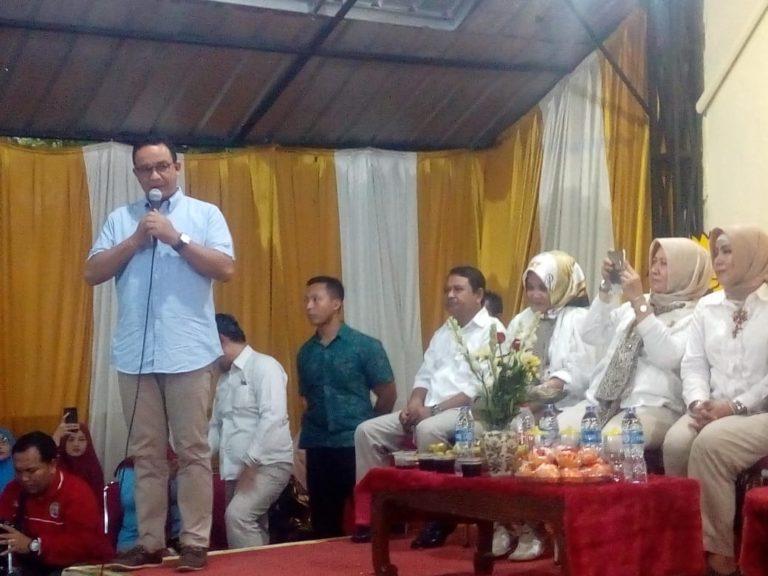 Resmikan Pendopo Garuda Nanggrow, Anies Minta Interaksi Warga Ditingkatkan