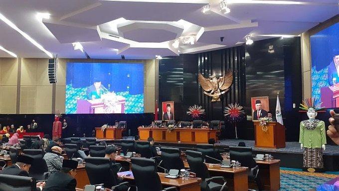 Sah! DPRD Ketok Palu Tatib Pemilihan Wagub DKI