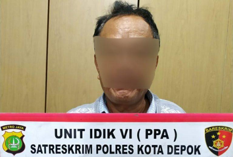 Polisi Tangkap Pelaku Pencabulan Bocah di Sawangan Depok