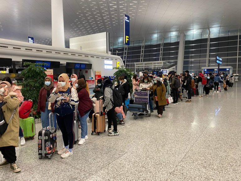 Pemerintah Pastikan WNI yang Dievakuasi dari Wuhan dalam Keadaan Sehat