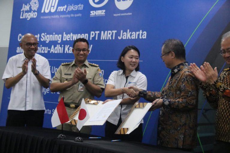Pemprov DKI Sepakati Kerjasama Pembangunan MRT Fase ke-2A  Bundaran HI-Harmoni