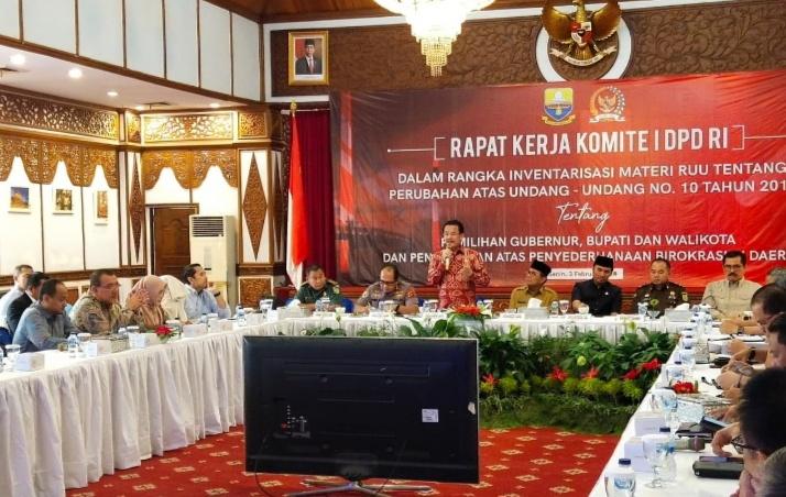 Di Provinsi Jambi, Komite I DPD Terima Masukan Tentang Penyederhanaan Birokrasi